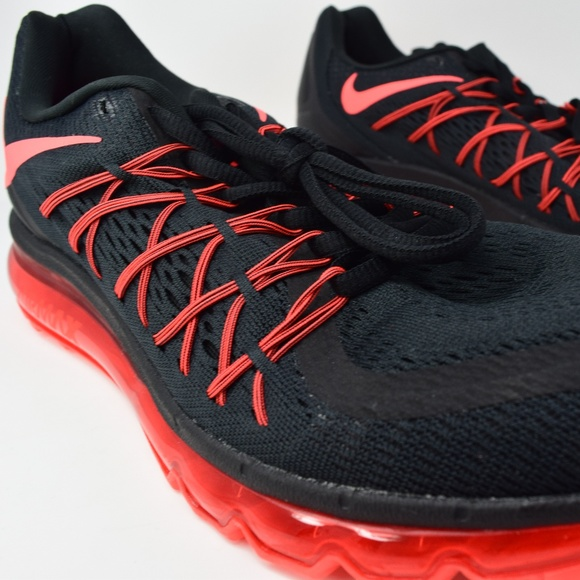 online store 3b9ac 8e532 Nike Air Max 2015 Running Shoe 698902-016 Black